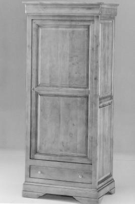 Bonnetière Louis Philippe  1 porte 1 tiroir.