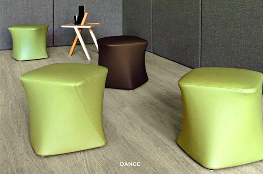 Pouf DANCE color by Alexander LORENZ