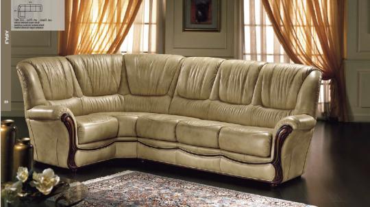 Canapé d'angle de qualité reconnue mais en prix d'entrée car déjà rentabilisé. Existe en différents revêtement et coloris
