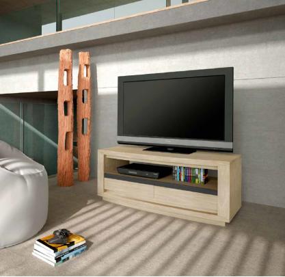Structure MDF revêtu de chêne véritable et incrustation céramique véritable. Grand choix de teinte de bois et de céramique.