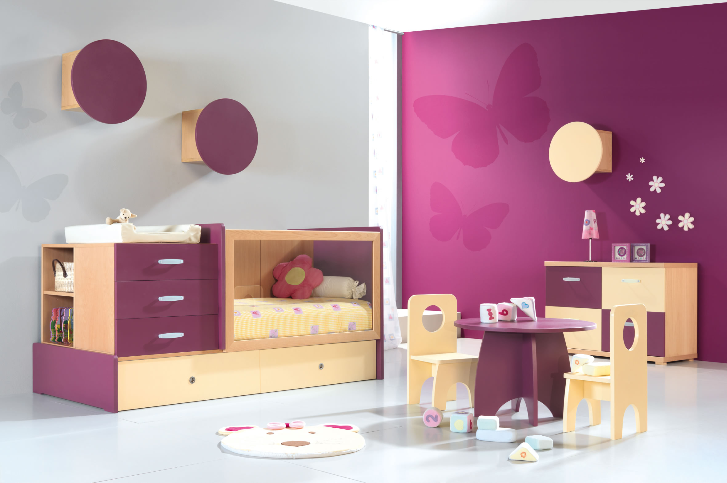 Deco murale chambre enfant chambre enfant decoration for Decoration murale enfant