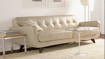 Canapé design avec un choix de couleur et revêtement de plus de 40 possibilité.