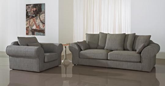 Salon California. Canapé fauteuil avec accoudoir arrondi stylisé. La structure et les coussins interchangeables peuvent être choisi par un choix de plus de 130 coloris, avec plusieurs couleurs sur un même canapé. Fabriquer votre salon a votre image. Petit plus ce modèle est totalement déhoussable.