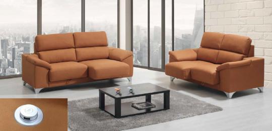 Canapé ALEN avec chargeur USB, assise coulissantes.