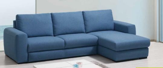 Canapé chaise longue MARKUS. Grand choix de couleur et de revêtement.