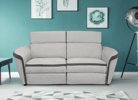 Canapé MATIZ. Canapé grand confort. Grand choix de coloris et revêtements . Option relax....