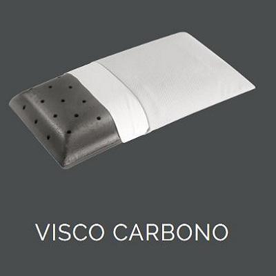 Les différentes couches de l' oreiller  ViscoCarbono